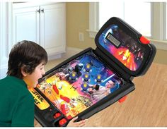 Pinball Star Wars Tabletop Arcade Game Kids Toy Electronic Lights Sound Effects #StarWars