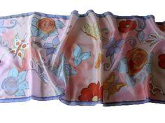 Kézzel festett selyem kendők, sálak: http://silkyway..hu