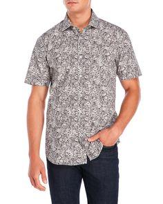 Bogosse Printed Short Sleeve Sport Shirt
