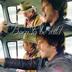 "heartlandsjourney: "" ""Born to be wild.""  Jack & Ty - Season 3 Episode 14 """