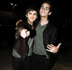 Logan Lerman & Dylan O'Brien I have just died