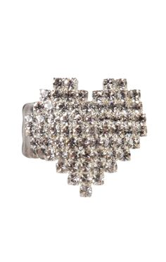 heart shape rhinestone ring  $5.00    special offer: $5 ring