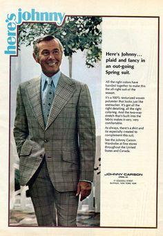 1973 Johnny Carson Apparel Advertisement Newsweek April 16 1973   Flickr - Photo Sharing!