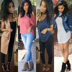 #outfit #recap  which one is your style? Any new styles you would want to see?