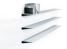 wogg: Designermöbel   Wogg 10 Aluminium wall shelves