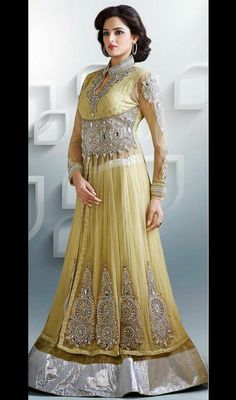 Spell bind your onlookers with this beige embroidered viscose lehenga choli. Beautified with bead, butta, lace, patch, sequins and stones work. #NewLookLehengaCholi