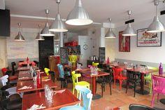 Frankette rue Houdon dans le 18ème Pergola, Brunch, Food Design, Conference Room, Rue, Table, Restaurants, Paris, Furniture