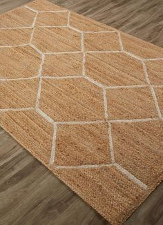 Jute Material carpet in Natural color