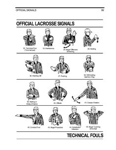 Lacrosse Ref Signals - reference Lacrosse Memes, Lacrosse Sport, Softball, Girls Lacrosse, Lacrosse Gear, Lacrosse Sticks, Field Hockey, Kayaking, Maria Sharapova