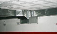 Ventilación de parquing con ventilador 400º/2h.