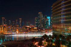 Burj Dubai Fountain .