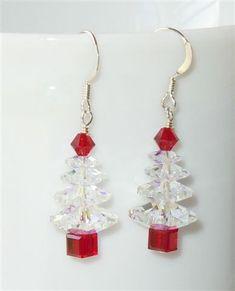 Adorable Christmas earrings