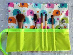 Elephant Love Makeup Case by Dottiescraftshoppee on Etsy