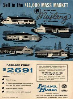"""""""Mustang"""" ranches by Inland Homes."""