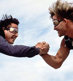The 8 Most Unintentionally Homoerotic Action Movies Ever Point Break Remake, Point Break 1991, Detective, Eureka Moment, Patrick Swayze, When You Realize, Keanu Reeves, Action Movies, Great Movies