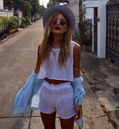 Festival Looks, Festival Style, Boho Outfits, Summer Outfits, Cute Outfits, Summer Clothes, Casual Outfits, Looks Street Style, Looks Style