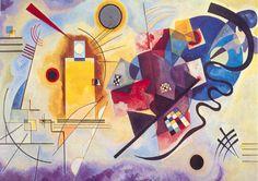"Wassily Kandinsky  ""GELB-ROT-BLAU"""