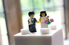 Lego also in wedding cakes