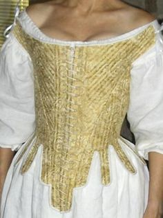 RH711 - 1670s-1720s Stays | Womens Historic Corset | Pirate Era Clothing