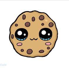 Kawaii Girl Drawings, Cute Animal Drawings Kawaii, Cute Little Drawings, Cute Food Drawings, Cute Cartoon Drawings, Cute Kawaii Animals, Cool Art Drawings, Drawing Faces, Kawaii Disney