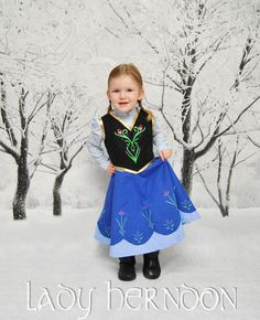 Anna's Adventure Dress Sizes 2T 3T 4T 5 6 7 8 and от LadyHerndon