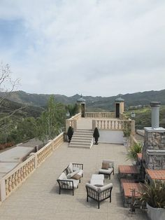 Double-Deck with Panoramic Views of the Santa Monica Mountains Malibu Mansion, Santa Monica Mountains, Double Deck, Ideal Home, Villa, Patio, Vacation, Explore, Mansions