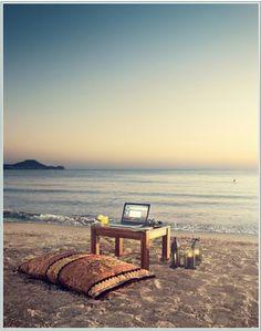 Barefoot office