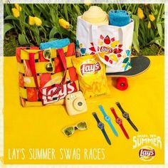Lay's Prize Pack Summer Swag on Twitter Giveaway