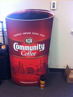 BIG cup - that might get you through the day! #bringitcontest