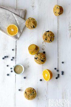 Blueberry Millet Muffins {Beard and Bonnet} #glutenfree  (scheduled via http://www.tailwindapp.com?utm_source=pinterest&utm_medium=twpin&utm_content=post3535115&utm_campaign=scheduler_attribution)