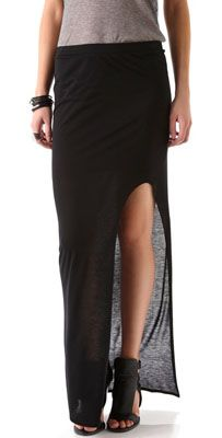 Fall trend: high-slit skirts
