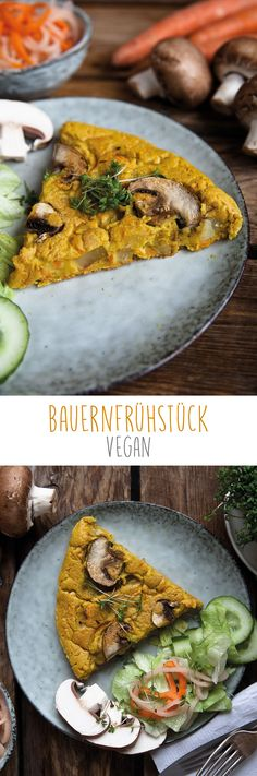 Veganes Bauernfrühstück Entdeckt von Vegalife Rocks: www.vegaliferocks.de ✨ I Fleischlos glücklich, fit & Gesund✨ I Follow me for more vegan inspiration @vegaliferocks