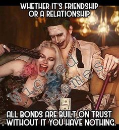You have nothin Cute Relationship Goals, Cute Relationships, Relationship Quotes, Life Quotes, Bitch Quotes, Joker Quotes, Badass Quotes, Bonnie And Clyde Quotes, Harly Quinn Quotes