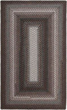 Braided rugs are great for Christmas. Surya Jamestown JAM4303 Area Rug | Bold Rugs