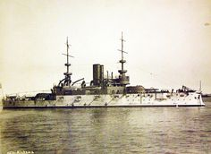 Lot-3288-18: U.S. Navy Illinois-class pre-dreadnought battleship, USS Alabama…