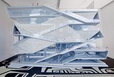 Модель будущего Музея изображения и звука, проект Diller Scofidio+ Renfro