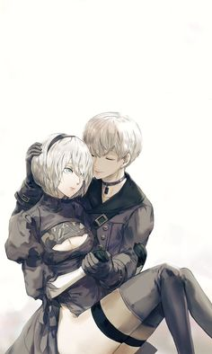 Nier/Nier: Automata and Drakengard Trilogy. Discussions on the games, art books,. Game Character, Character Design, Drakengard Nier, Queen Anime, Ship Drawing, Cute Anime Coupes, Anime Sketch, Anime Kawaii, Anime Couples