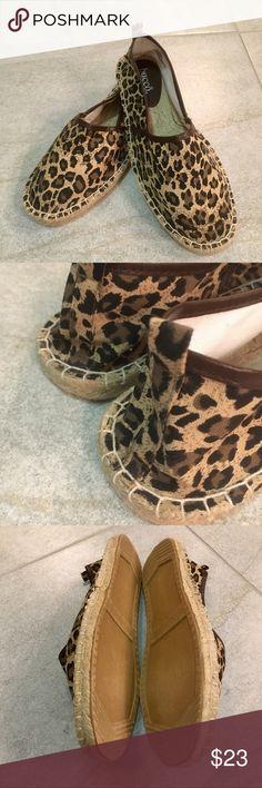 🆕🔥BUCCO•ESPADRILLES🔥 Brand New! Bucco Leather Trim Leopard Espadrilles. 🌟🌟🌟 Bucco Shoes Espadrilles