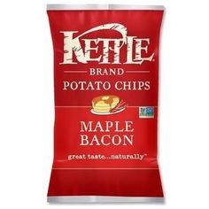 Kettle Brand Maple Bacon Potato Chips (15x5 OZ)