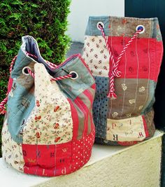 Rastaquouère: Rabiot de vacances/ this would make a great beach bag shape