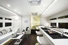 Worlds most amazing, luxury RV:Mercedes Benz Ketterer Continental RV Interior View