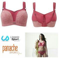 Soutien-gorge PANACHE #sport 5021, maintien extrême jusqu'au bonnet H   #lingeriesport #fraisdeportgratuit #panachesport #boxe #gymnastique