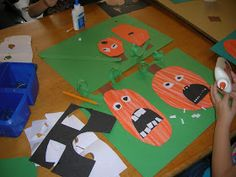 The Elementary Art Room!: Silly Pumpkins