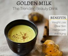 This is actually an Ayurvedic (Ancient Indian) recipe. My grandma used to make me this milk to keep me 'fair and beautiful' like she always told me ^_^ The main ingredient: turmeric is the wonderspice (or fairy dust if you're trying to get your kids to drink it haha). Although it actually tastes really yummy! …