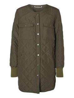 Quilted jacket from Noisy may