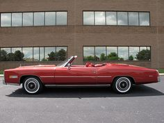 1976 Cadillac Eldorado convertible Maintenance/restoration of old/vintage vehicles: the material for new cogs/casters/gears/pads could be cast polyamide which I (Cast polyamide) can produce. My contact: tatjana.alic@windowslive.com