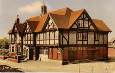 Unused  postcard sized photo of of Dukeries Hotel Edwinstowe by Frith &Co