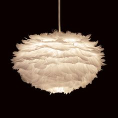 Papillon - Vita Eos Feather Pendant Light, £50.00 (http://www.papilloninteriors.co.uk/vita-eos-feather-pendant-light/)