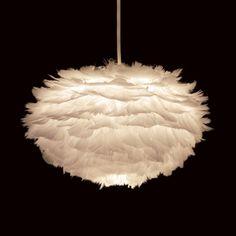 Papillon - Vita Eos Feather Pendant Light, £50.00 (http://www.papilloninteriors.co.uk/vita-eos-feather-pendant-light/)