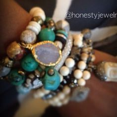 Join the Diamond HONESTY #armparty...you'll love it! We pinky promise!!! #GetAddicted!